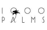 1000 Palms Logo; new store coming to the District on Bernard