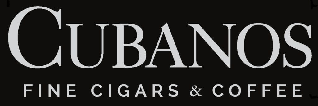 Cubanos Fine Cigars and Coffee Logo; coming soon to the District on Bernard